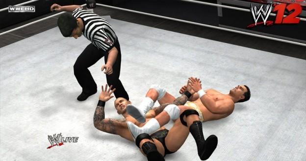 WWE '12 Screenshot #3 for Xbox 360