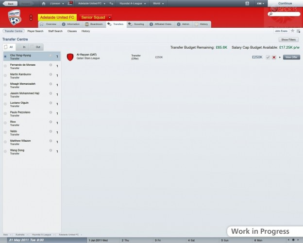 Football Manager 2012 Screenshot #1 for PC