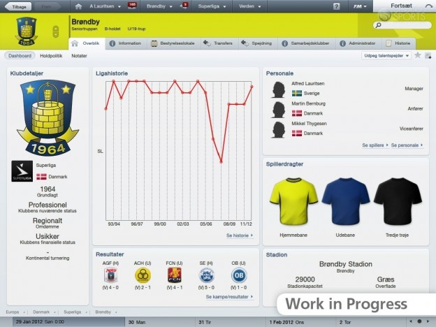 Football Manager 2012 Screenshot #6 for PC