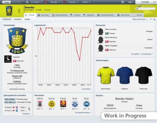 Football Manager 2012 Screenshot #7 for PC