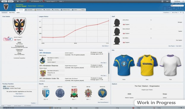 Football Manager 2012 Screenshot #10 for PC