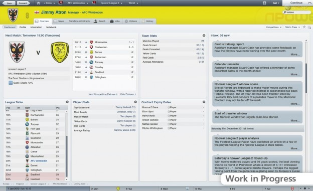 Football Manager 2012 Screenshot #15 for PC