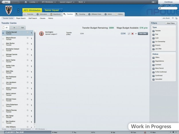 Football Manager 2012 Screenshot #16 for PC