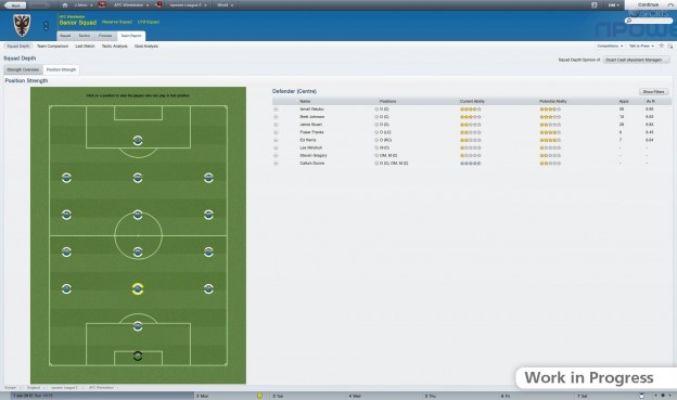 Football Manager 2012 Screenshot #20 for PC
