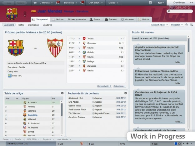 Football Manager 2012 Screenshot #25 for PC