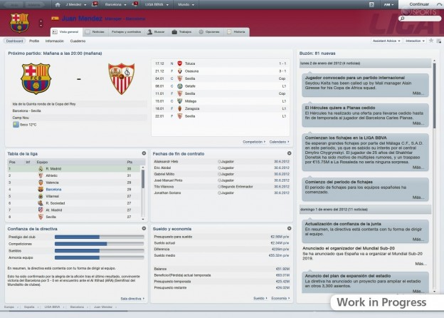 Football Manager 2012 Screenshot #26 for PC