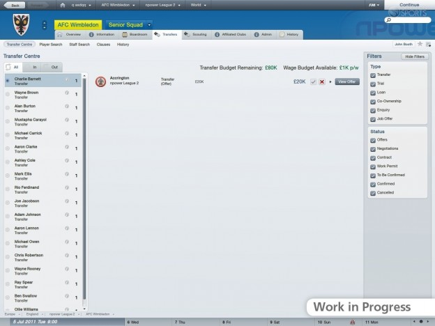 Football Manager 2012 Screenshot #30 for PC