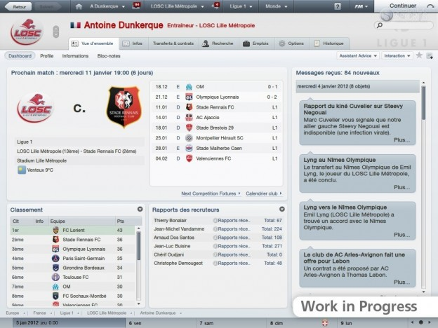 Football Manager 2012 Screenshot #32 for PC