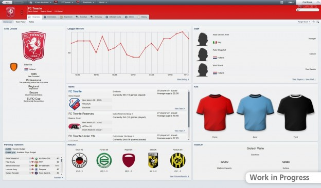 Football Manager 2012 Screenshot #35 for PC