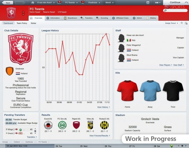 Football Manager 2012 Screenshot #37 for PC