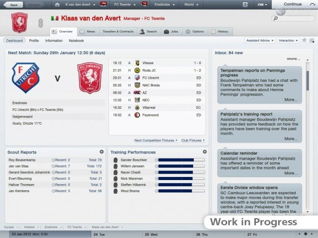 Football Manager 2012 Screenshot #39 for PC