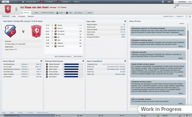 Football Manager 2012 Screenshot #40 for PC