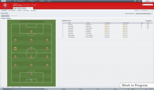 Football Manager 2012 Screenshot #42 for PC