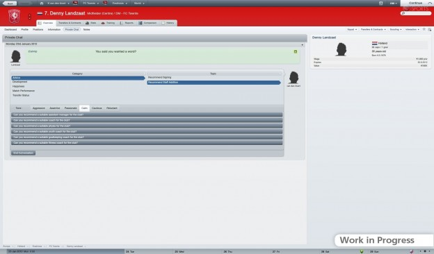 Football Manager 2012 Screenshot #46 for PC