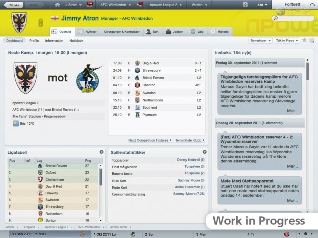 Football Manager 2012 Screenshot #51 for PC