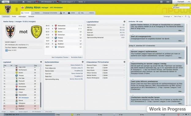Football Manager 2012 Screenshot #52 for PC