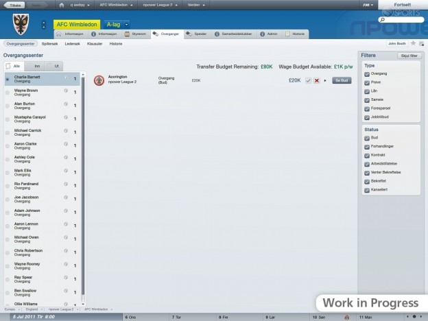 Football Manager 2012 Screenshot #53 for PC