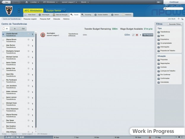 Football Manager 2012 Screenshot #55 for PC