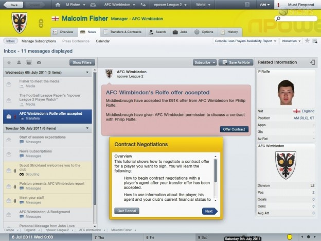Football Manager 2012 Screenshot #58 for PC