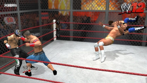 WWE '12 Screenshot #6 for Xbox 360
