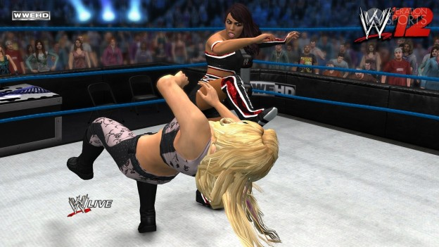 WWE '12 Screenshot #7 for Xbox 360