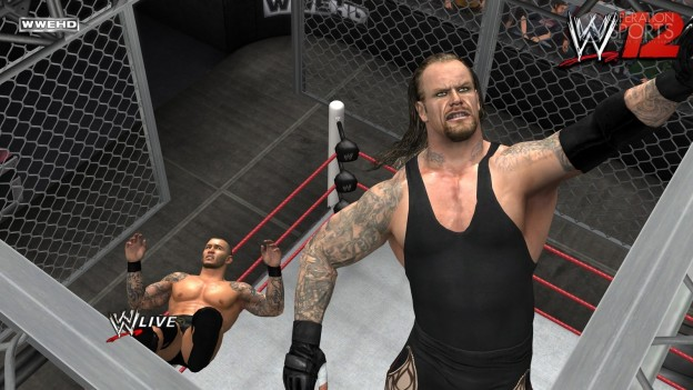 WWE '12 Screenshot #8 for Xbox 360