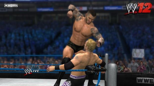 WWE '12 Screenshot #9 for Xbox 360