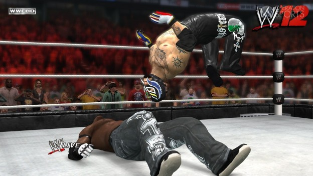 WWE '12 Screenshot #10 for Xbox 360