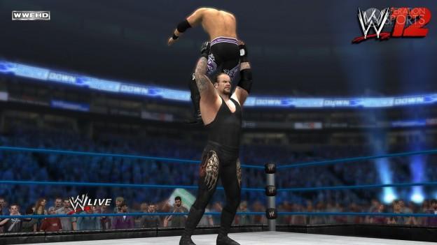 WWE '12 Screenshot #11 for Xbox 360