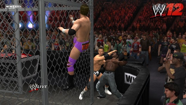 WWE '12 Screenshot #13 for Xbox 360