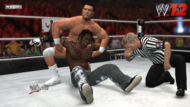 WWE '12 Screenshot #14 for Xbox 360