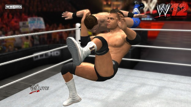 WWE '12 Screenshot #15 for Xbox 360