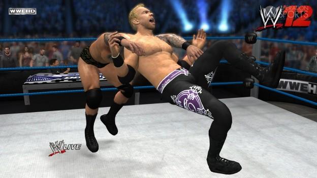 WWE '12 Screenshot #17 for Xbox 360