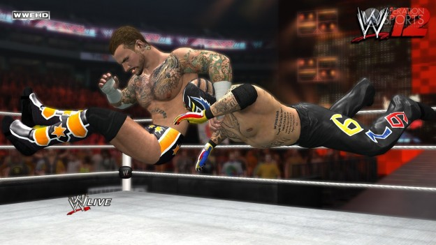 WWE '12 Screenshot #18 for Xbox 360