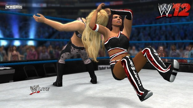 WWE '12 Screenshot #20 for Xbox 360