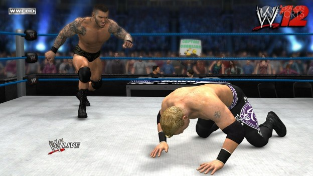 WWE '12 Screenshot #24 for Xbox 360