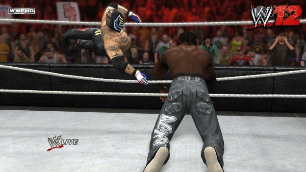 WWE '12 Screenshot #26 for Xbox 360