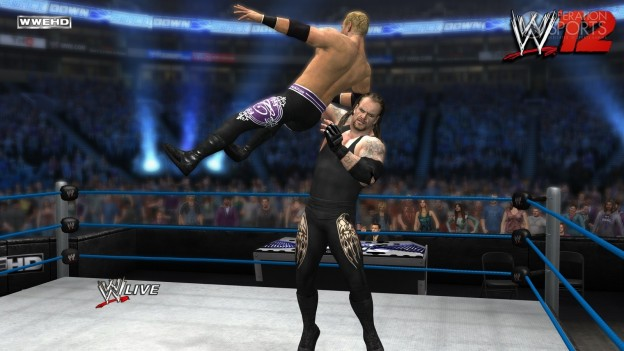 WWE '12 Screenshot #27 for Xbox 360
