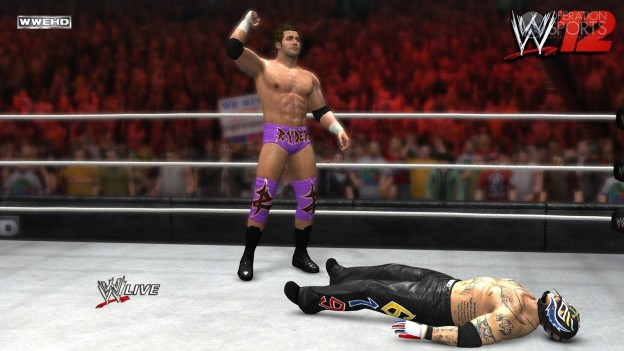 WWE '12 Screenshot #29 for Xbox 360