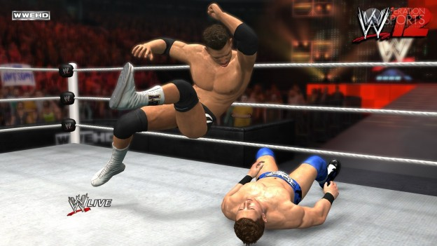 WWE '12 Screenshot #12 for PS3