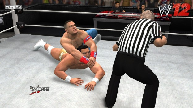 WWE '12 Screenshot #23 for PS3