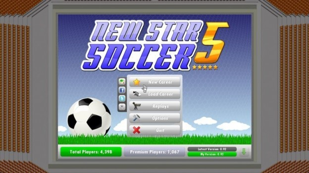 New Star Soccer 5 Screenshot #1 for PC