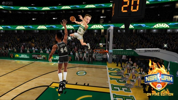 NBA JAM: On Fire Edition Screenshot #35 for Xbox 360