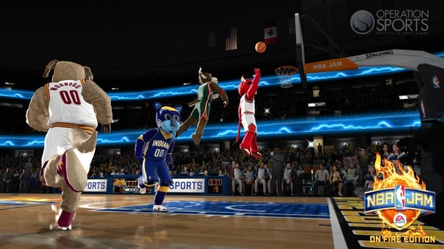 NBA JAM: On Fire Edition Screenshot #48 for Xbox 360