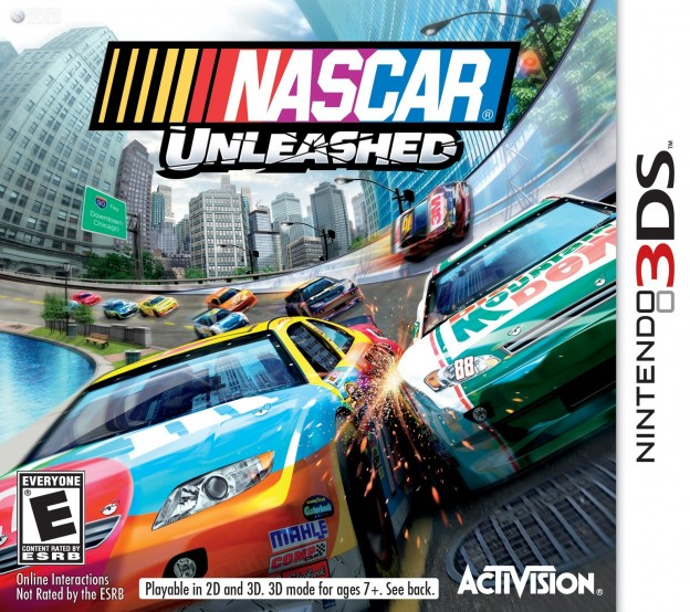 NASCAR Unleashed Screenshot #1 for 3DS