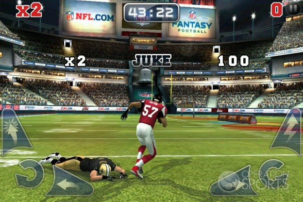 NFL Rivals Screenshot #3 for iPhone