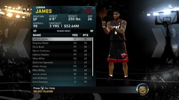 NBA 2K12 Screenshot #235 for PS3