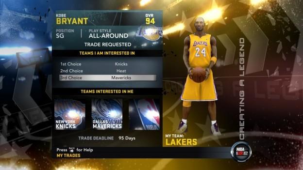 NBA 2K12 Screenshot #246 for Xbox 360