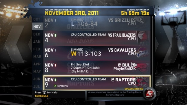 NBA 2K12 Screenshot #293 for Xbox 360