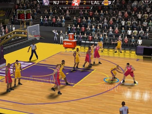 NBA 2K12 Screenshot #3 for iOS